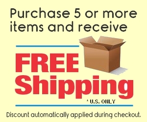Free Shipping 5 Or More US