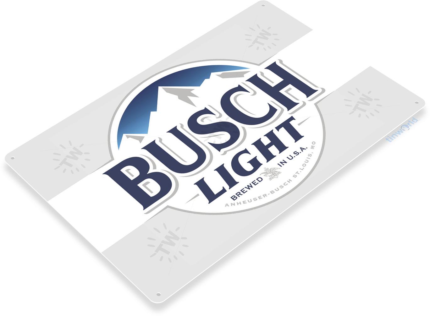 Busch-Light Beer Sign C669 - TinWorld Liquor Signs