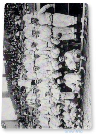 tin sign a022 boston red sox team photo baseball card shop store tinworld tinsign_com