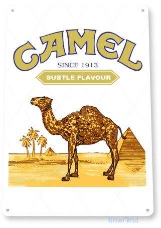 tin sign a074 camel cigarette sign tobacco cigar bar smoke shop tinworld tinsign_com