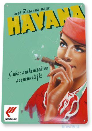 tin sign a119 minair cuban cigar havana tobacco smoke shop cigar bar tinworld tinsign_com