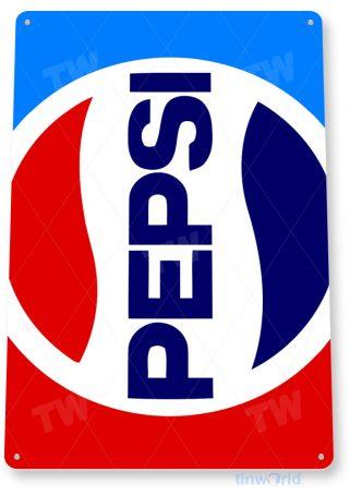 tin sign a139 pepsi cola retro 80's soda sign tinworld tinsign_com