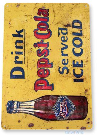 tin sign a141 pepsi cola cold rustic retro soda sign kitchen cottage tinworld tinsign_com