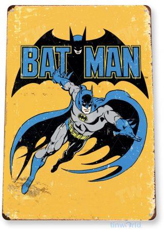 tin sign a235 bat man retro rustic comic sign shop cave tinworld tinsign_com