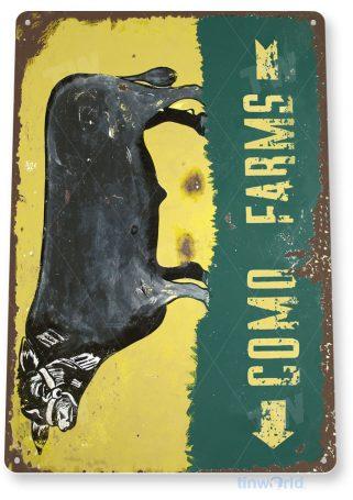 tin sign a302 como farms rustic retro sign kitchen cottage farm barn tinworld tinsign_com