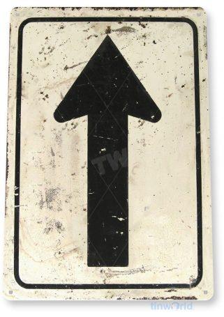 tin sign a354 arrow rustic street sign kitchen cottage farm garage cave tinworld tinsign_com