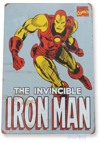 tin sign a444 iron man retro comic sign store shop cave tinworld tinsign_com