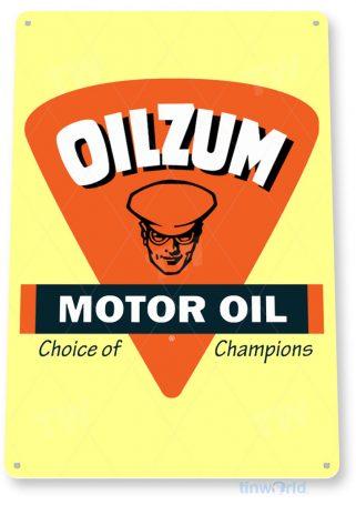 tin sign a528 oilzum oil retro gas garage sign auto shop store cave tinworld tinsign_com