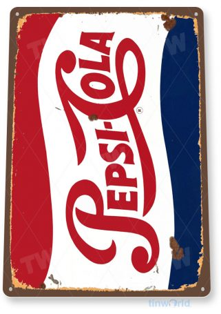 tin sign a563 pepsi cola rustic retro soda sign kitchen cottage cave tinworld tinsign_com