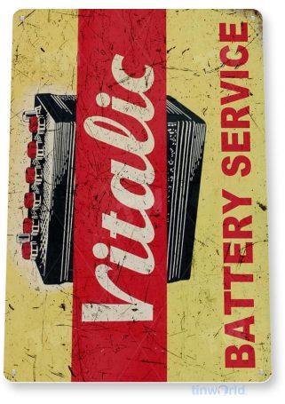 tin sign a698 vitalic retro rustic parts service auto shop sign garage cave tinworld tinsign_com