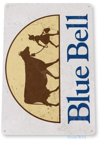 tin sign a820 bluebell ice cream rustic store sign kitchen cottage farm tinworld tinsign_com