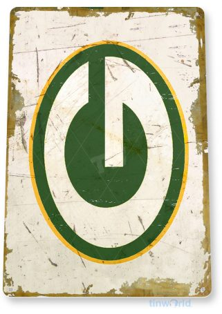 tin sign a920 green bay packers rustic retro football sports sign garage bar cave tinworld tinsign_com