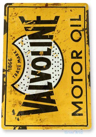 tin sign a961 valvoline oil retro rustic store gas station sign auto shop garage cave tinworld tinsign_com