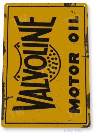 tin sign a963 valvoline motor oil retro rustic store gas station sign auto shop garage cave tinworld tinsign_com
