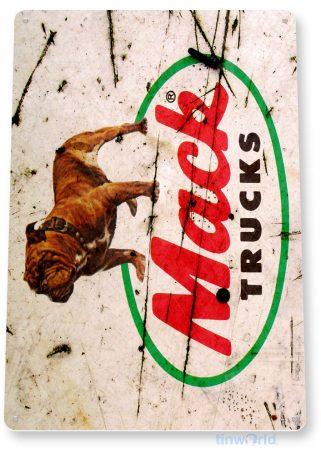 tin sign b086 mack truck rustic auto shop sign truck stop garage cave tinworld tinsign_com