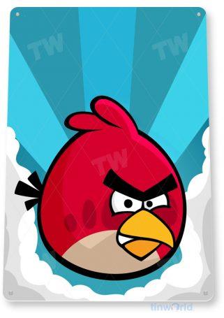 tin sign b105 angry birds smart phone app game icon tinworld tinsign_com
