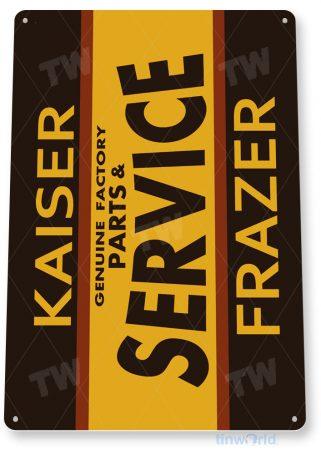tin sign b234 kaiser frazer retro auto parts shop sign garage cave tinworld tinsign_com