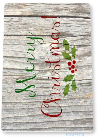 tin sign b313 merry christmas rustic holiday sign kitchen cottage farm tinworld tinsign_com