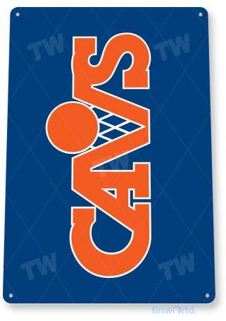 tin sign b344 cavs basketball retro sports sign bar pub cave tinworld tinsign_com