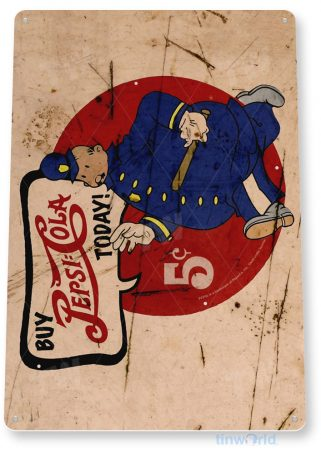 tin sign b372 pepsi cola rustic retro soda cola sign kitchen cottage farm tinworld tinsign_com