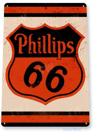 tin sign b519 phillips 66 retro rustic oil gas station sign garage auto shop cave tinworld tinsign_com