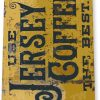 tin sign b773 jersey coffee rustic retro coffee shop sign kitchen cottage cafe farm tinworld tinsign_com