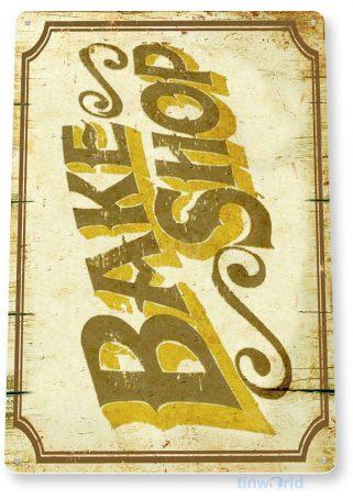 tin sign b856 bake shop rustic kitchen cottage cabin farm lake beach house bakery sign tinworld tinsign_com