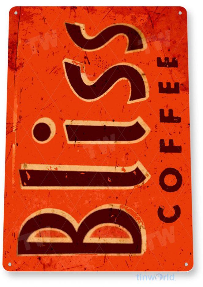tin sign b868 bliss rustic retro coffee shop bar sign kitchen cottage cafe farm tinworld tinsign_com