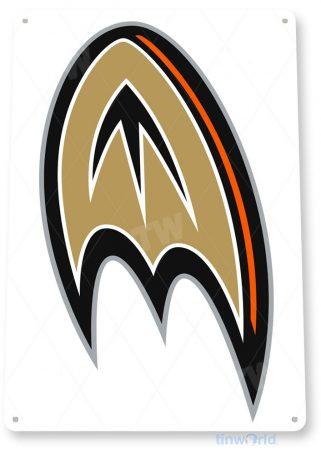 tin sign c065 anaheim ducks hockey sports sign tinworld tinsign_com