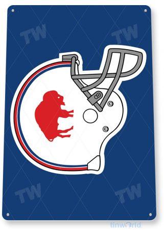 tin sign c074 buffalo bills retro rustic football field sports sign tinworld tinsign_com