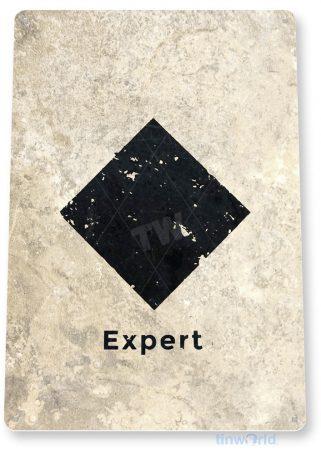 tin sign c084 diamond expert rustic snow ski slope sign skiing cabin resort lodge tinworld tinsign_com