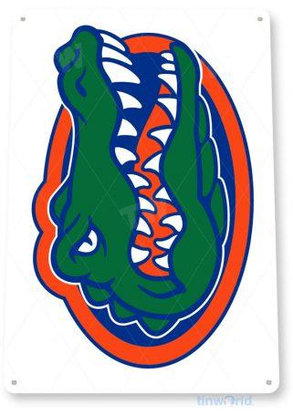 tin sign c095 university florida gators college mascot sign tinworld tinsign_com