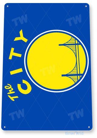 tin sign c098 golden state warriors basketball sports sign tinworld tinsign_com
