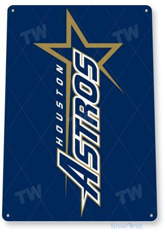 tin sign c105 houston astros baseball baseball sports tinworld tinsign_com