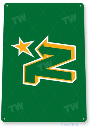 tin sign c127 minnesota north stars hockey sports logo tinworld tinsign_com