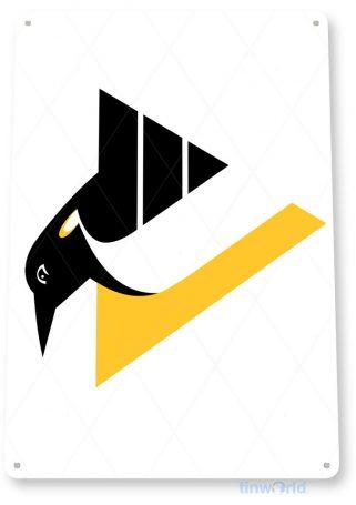 tin sign c139 pittsburg penguins hockey sports sign tinworld tinsign_com