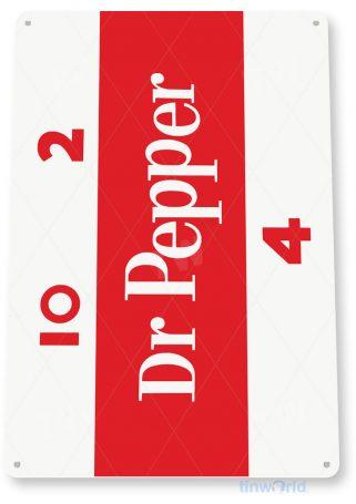 tin sign c196 dr pepper retro cola soda bar store sign kitchen cottage cave tinworld tinsign_com