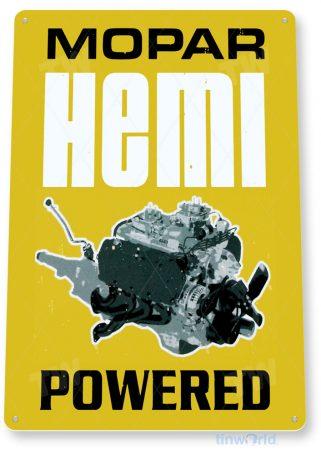 tin sign c215 mopar hemi motors rustic retro garage auto shop store sign tinworld tinsign_com