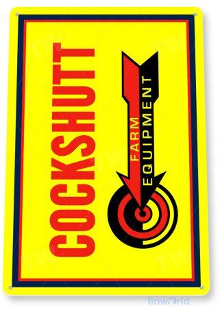 tin sign c274 cockchutt farm equipment retro farm barn sign tinworld tinsign_com