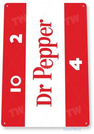 tin sign c288 dr pepper retro cola soda bar store sign kitchen cottage cave tinworld tinsign_com