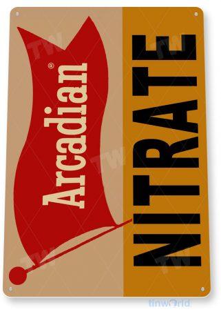 tin sign c452 arcadian nitrate 2 kitchen cottage farm tinworld tinsign_com