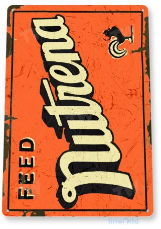 tin sign c490 nutrena feed retro rustic feed seed store farm barn sign tinworld tinsign_com