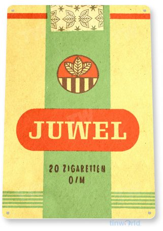tin sign c547 juwel retro cigarettes cigar smoke shop bar pub store sign cottage cave tinworld tinsign_com
