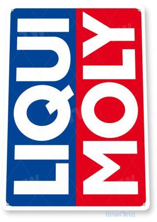 tin sign c548 liqui moly oil gas station sign garage auto shop cave tinworld tinsign_com