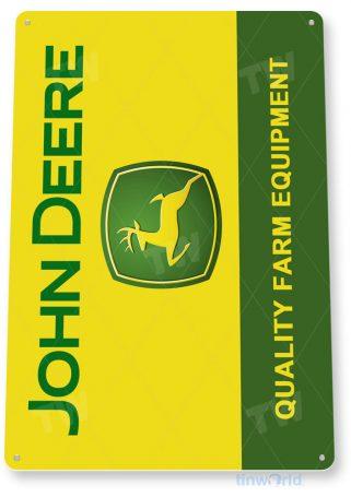 tin sign c574 john deere retro farm tractor equipment barn shop tinworld tinsign_com