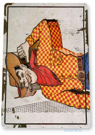tin sign c583 pioneer club las vegas retro rustic neon casino tinworld tinsign_com