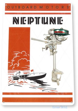 Neptune Outboard-Motors Sign C600