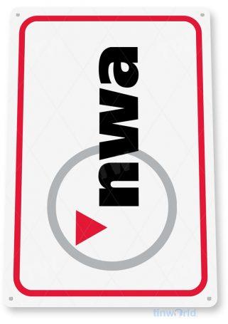 tin sign c620 northwest airlines retro commercial aviation tinworld tinsign_com