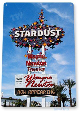 tin sign c632 stardust casino hotel sign retro historic las vegas tinworld tinsign_com