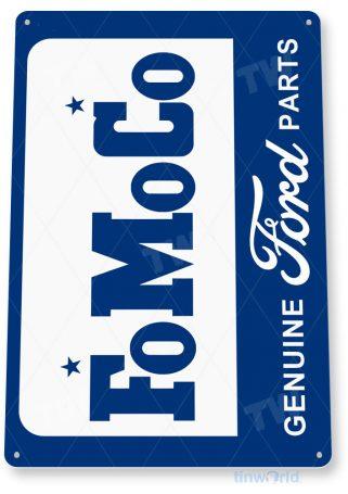 tin sign c682 fo mo co ford retro garage sign auto shop ford sign tinworld tinsign_com